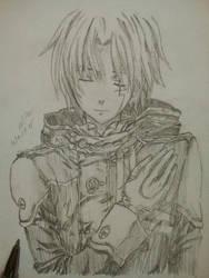 Allen Walker Sketch Drawing