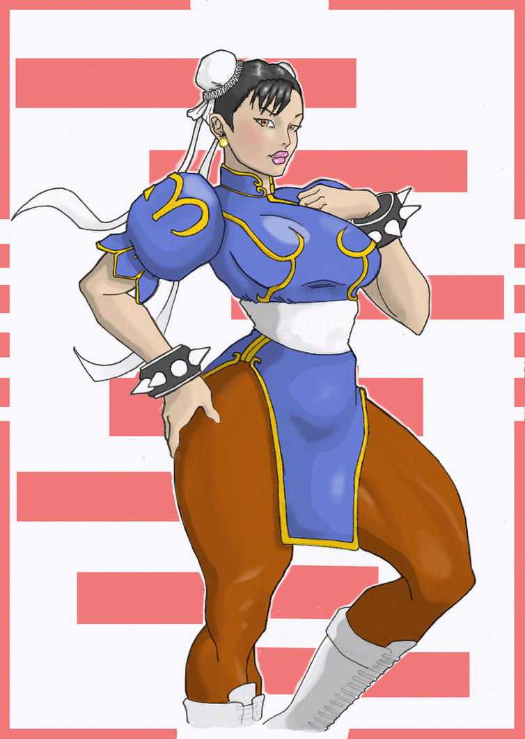 CHUN LI couleurs by gbudelo