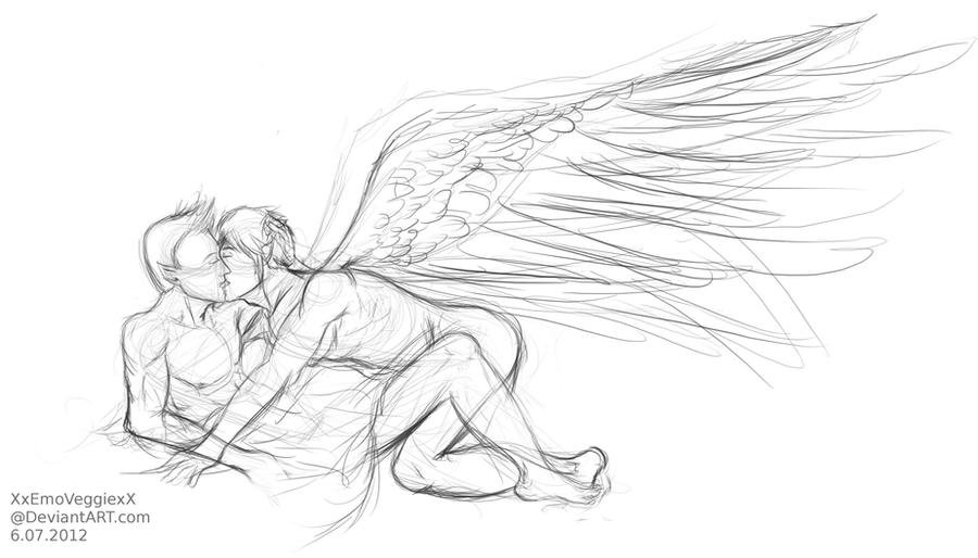 Kiss My Angel by XxEmoVeggiexX
