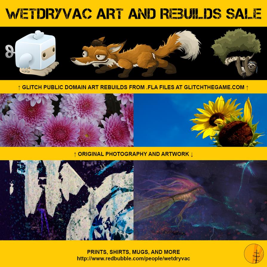 Art Sale! by wetdryvac