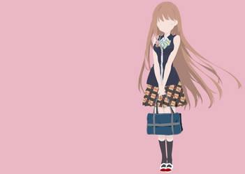 Neko Fujinomiya Minimalist by ImN0G00D