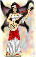 Fairy Guitarist by luvtuya