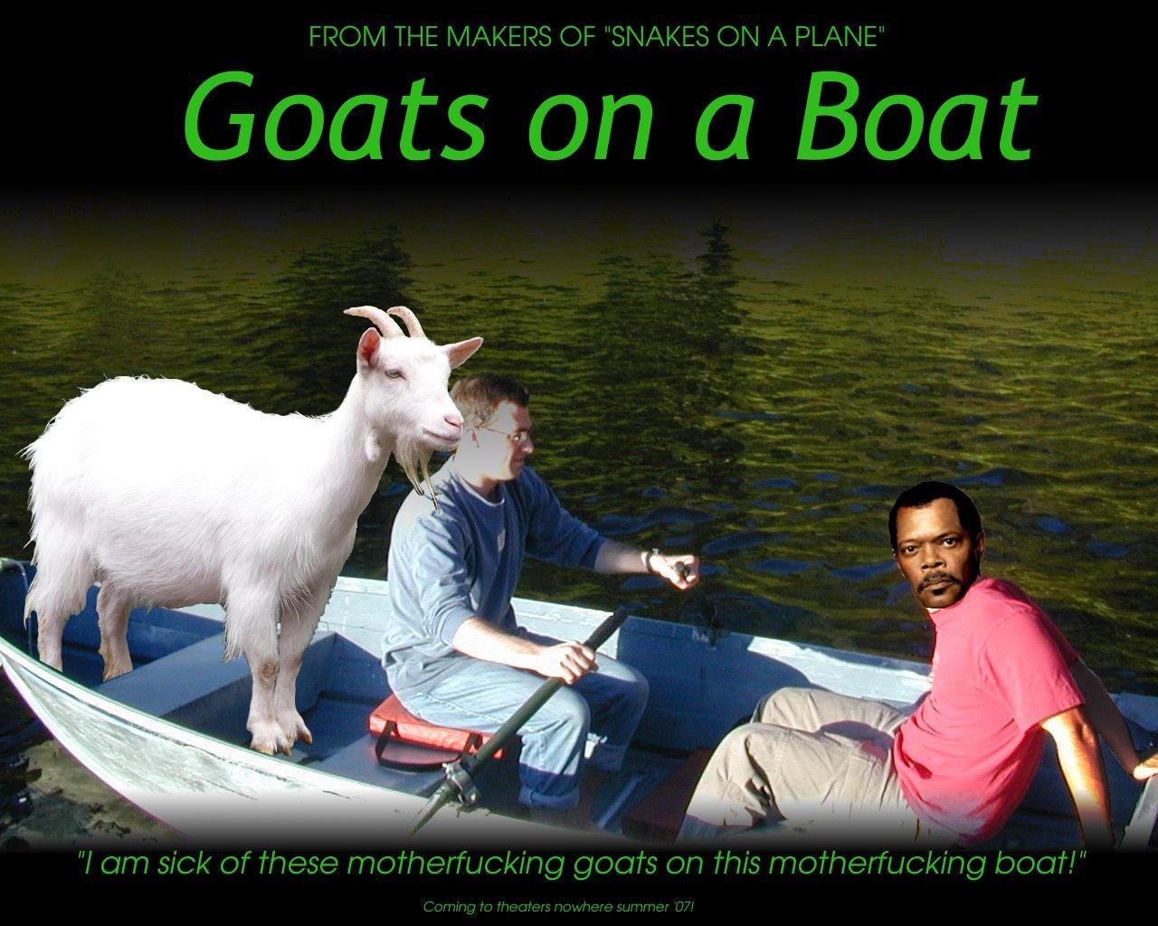 goats on a boat by valadil on deviantart