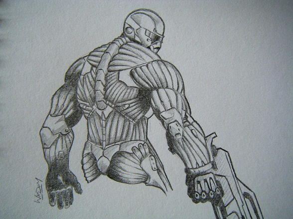 Crysis By Higgie-Baby On DeviantArt