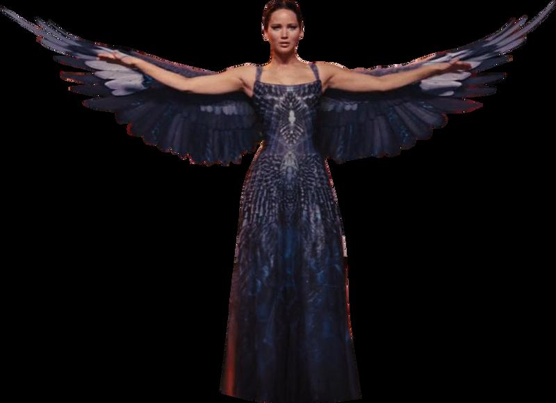 Hunger Games Mockingjay Dress