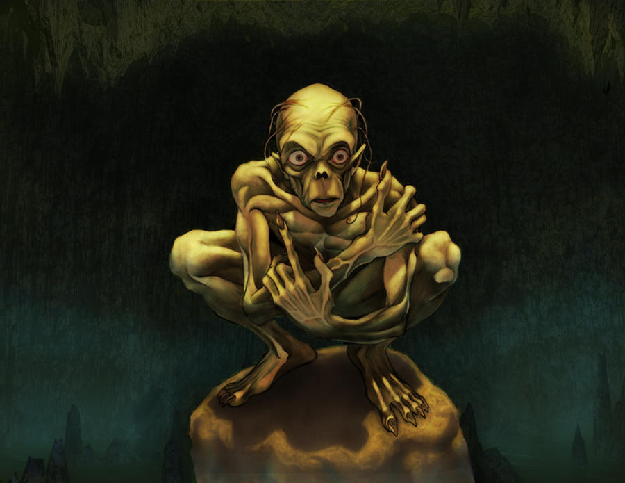 What Does Gollum Represent In Lord Of The Rings