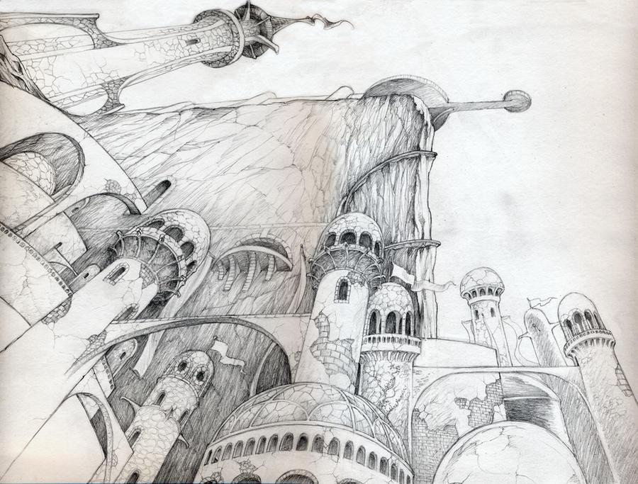 Minas Tirith II by DanielGovar