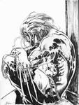 Wolverine: Wet Dog At The Door