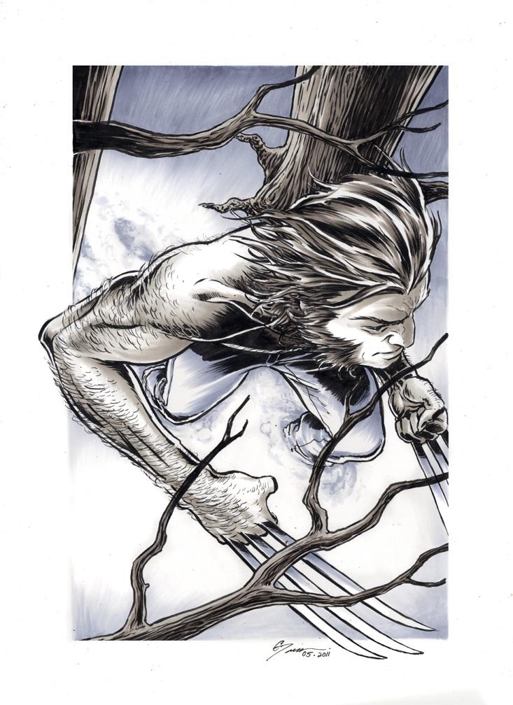 Wolverine 3 by DanielGovar
