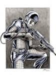 GI Joe Laser Trooper Flash