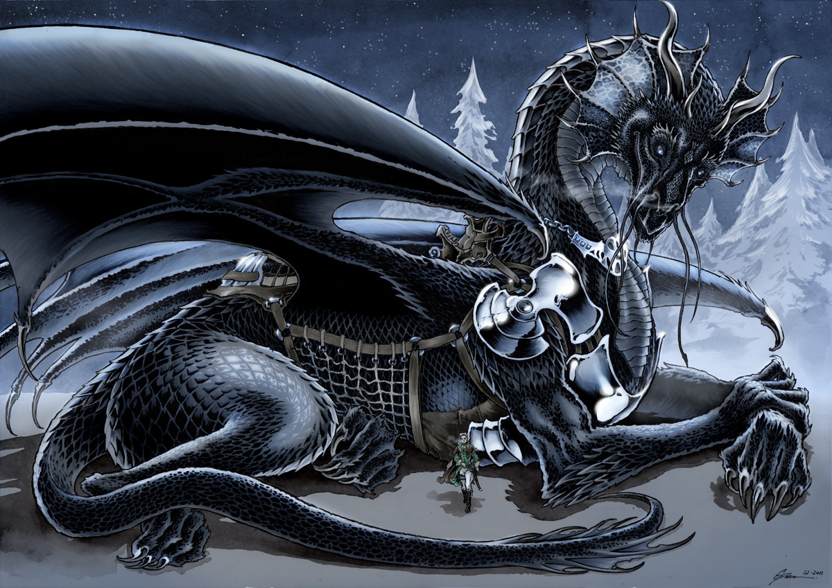 His Majesty's Dragon By Pardra · Temeraire