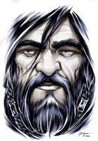 The Hobbit - Thorin Oakenshield by DanielGovar