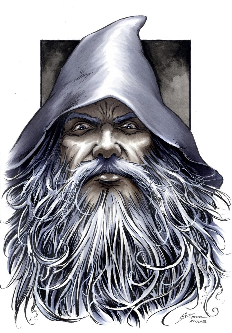 The Hobbt - Gandalf by DanielGovar