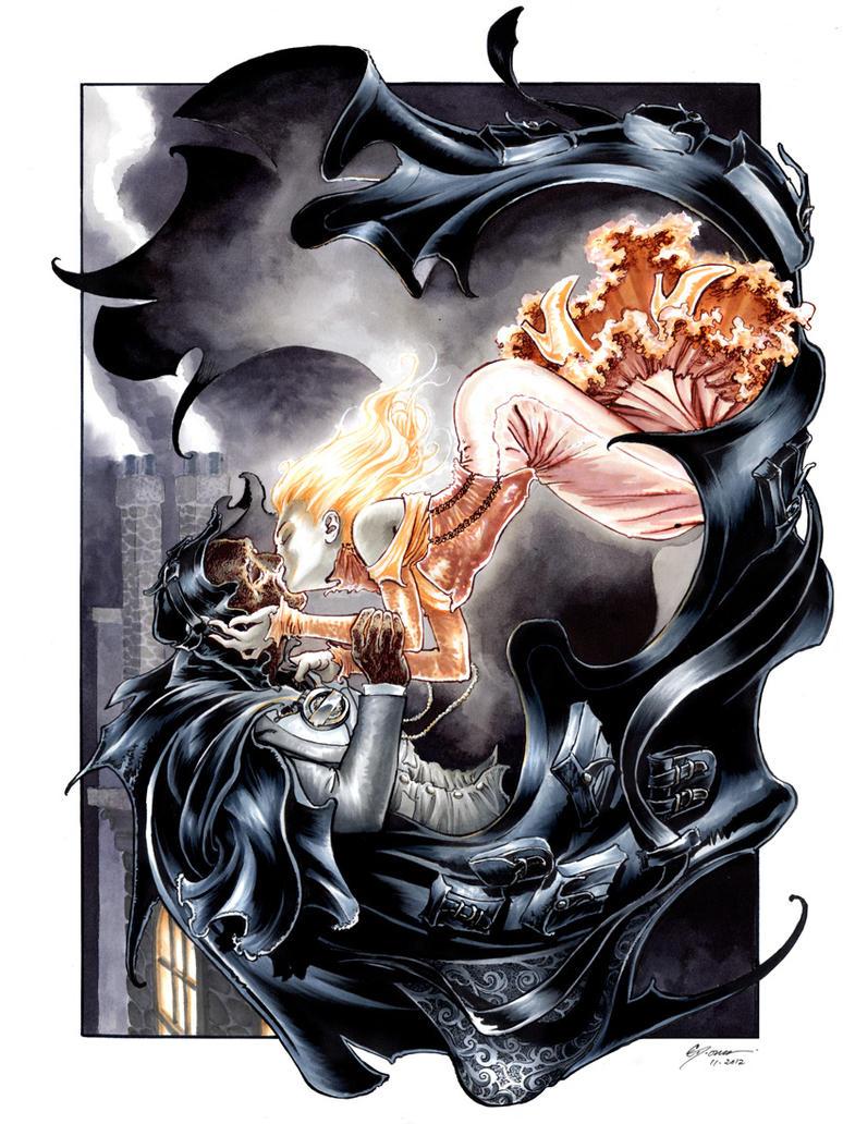 Cloak and Dagger Steampunk by DanielGovar