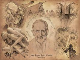 Tolkien Tribute by DanielGovar