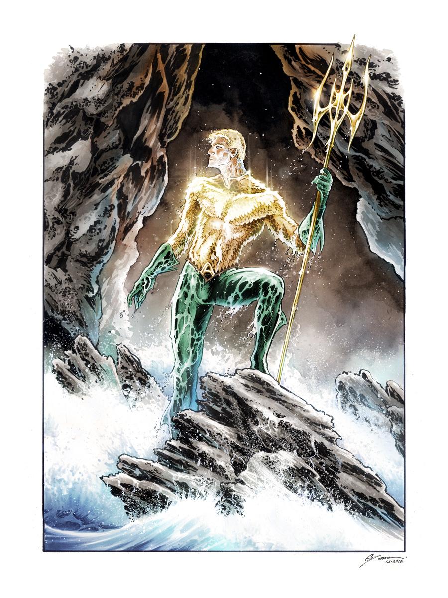 Aquaman Sea King by DanielGovar