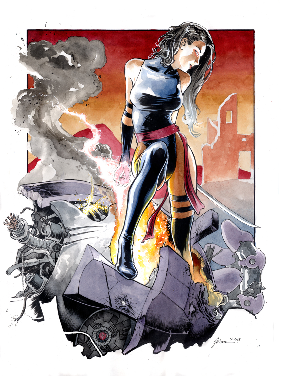 Psylocke 2 by DanielGovar