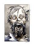 Walking Dead bearded zombie