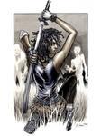 Walking Dead Michonne 2