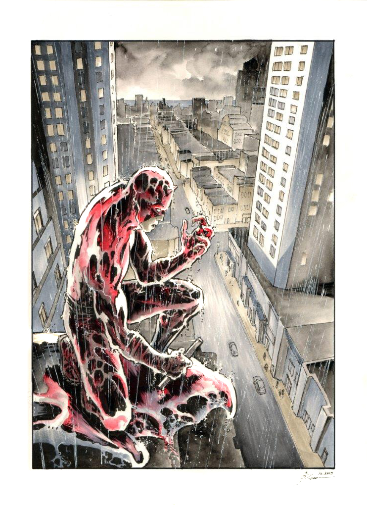 Daredevil - Nightmare in Hells Kitchen by DanielGovar on ...