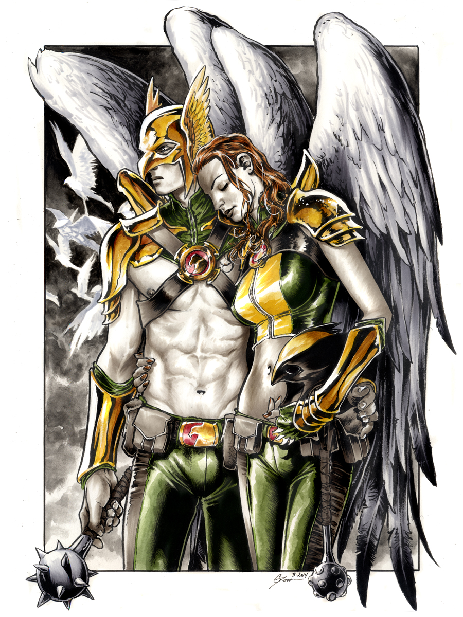 hawkgirl and hawkman relationship memes