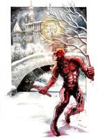 Daredevil Winter Wonderland by DanielGovar