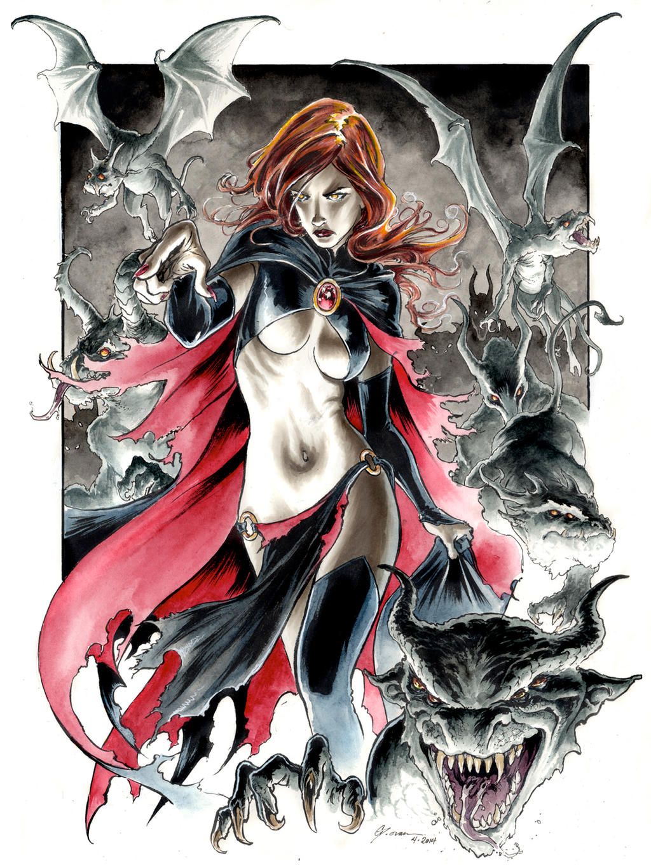Goblin Queen 4 by DanielGovar