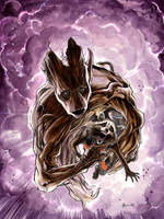 Groot and Rocket by DanielGovar