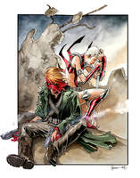 Grifter and Zealot by DanielGovar