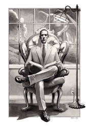 Lovecraft by DanielGovar
