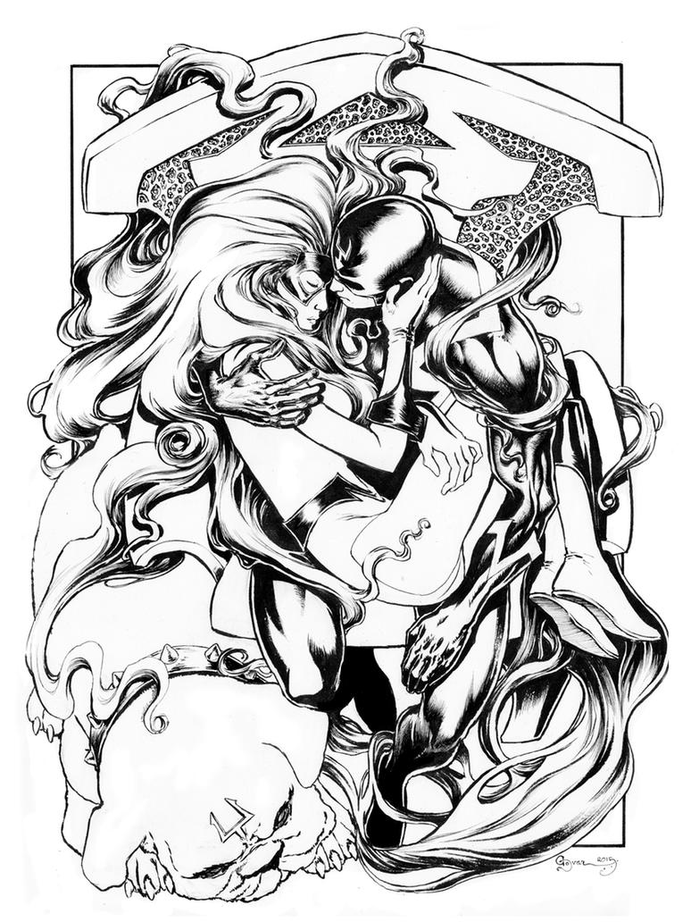 Blackbolt Medusa Lockjaw Inks by DanielGovar