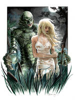 Creature from the Black Lagoon by DanielGovar