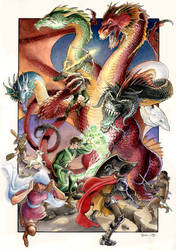Dungeons Dragons by DanielGovar