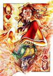 Dark Phoenix Queen of Hearts