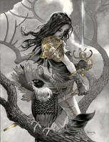 Gold Sword by DanielGovar