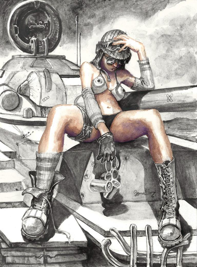 Tank Girl by DanielGovar
