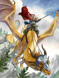 Dragonlance Laurana 2 by DanielGovar