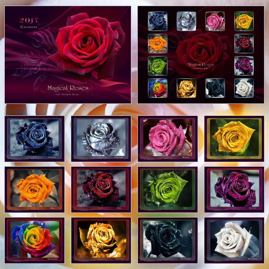 Magical Roses - CALENDAR