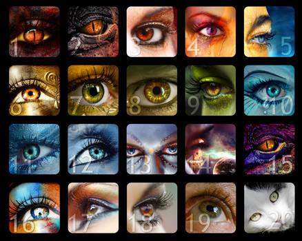 Eyes Calendar Winners