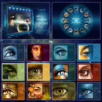 Windows To The Soul - CALENDAR by Lilyas