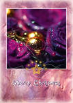 Purple Christmas CARD