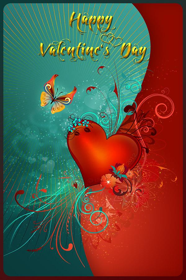 Valentine's Heart by Lilyas