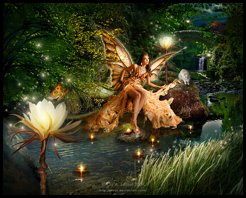 Earth Queen's Paradise by Lilyas