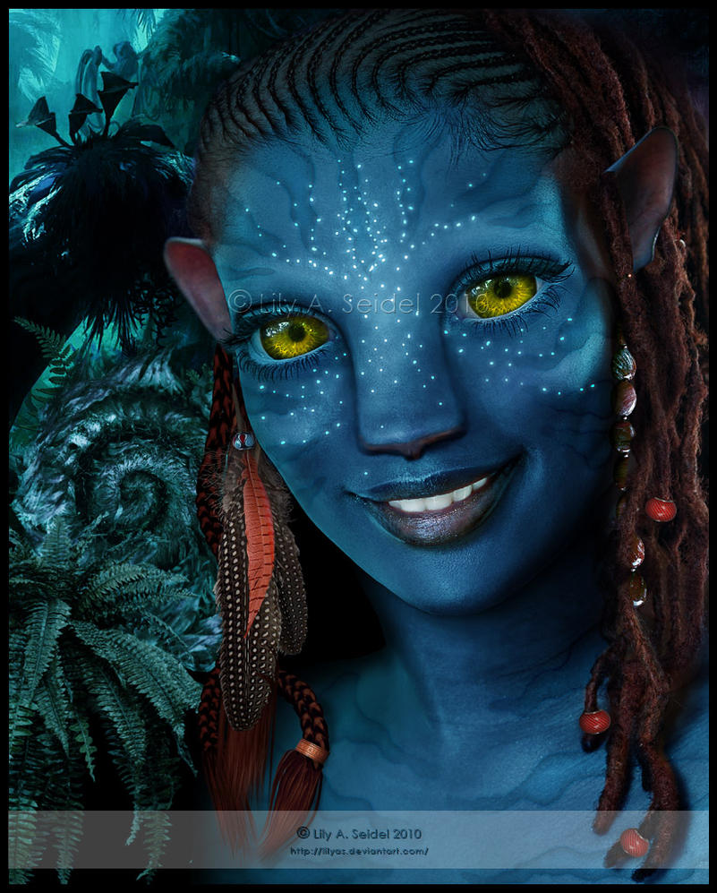 AVATAR: Na'vi - Sylwanin v.3 by Lilyas