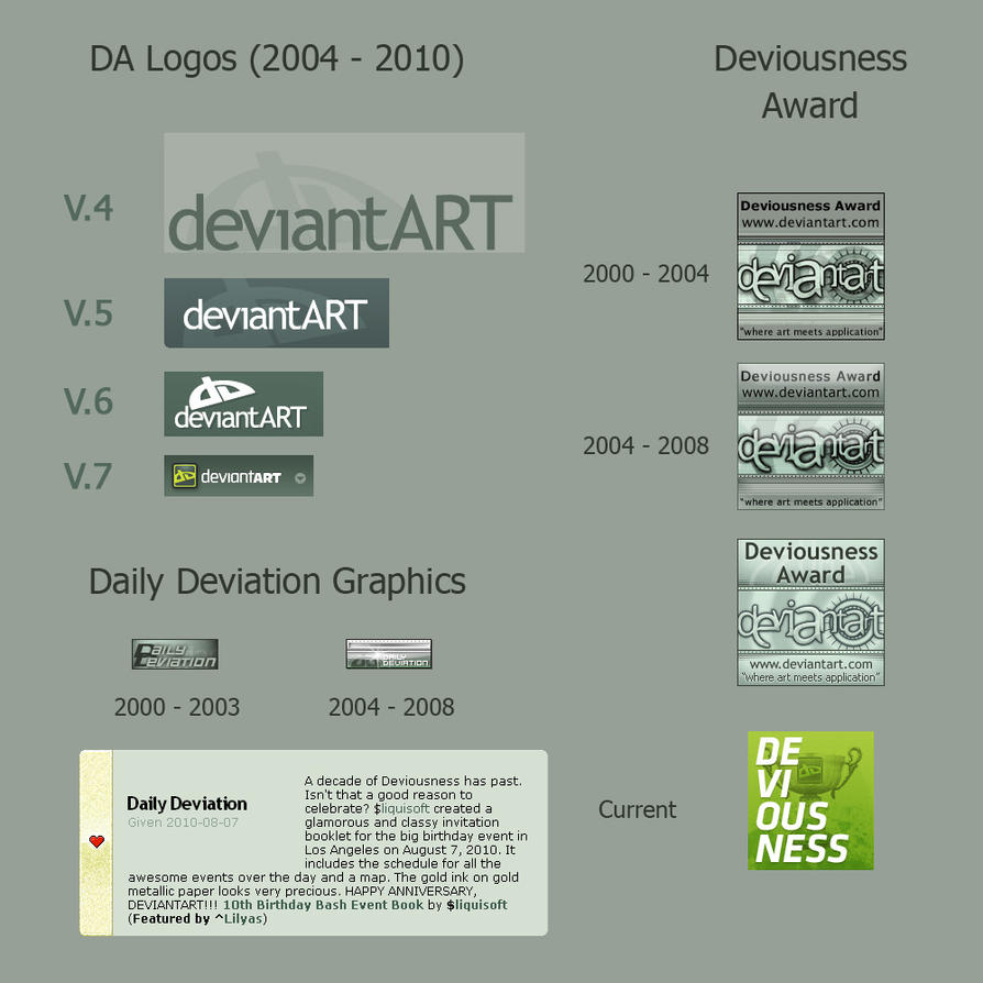 DA Logos and Graphics by Lilyas