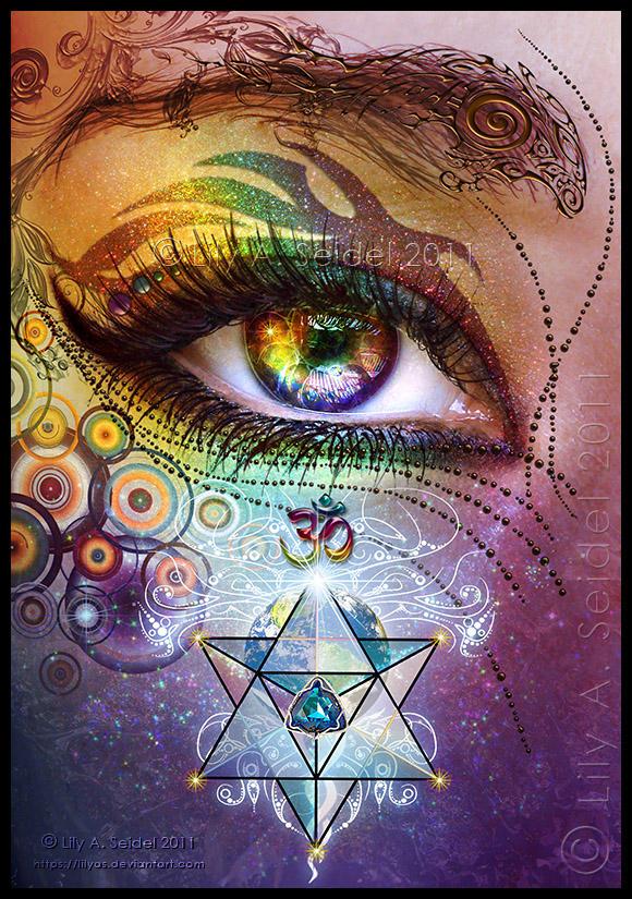 Rainbow Eye: Love and Light