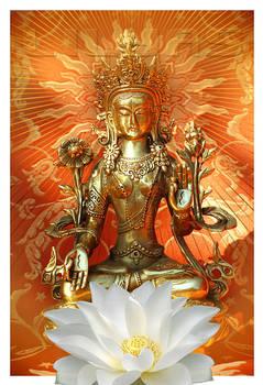 Bodhisattva White Tara