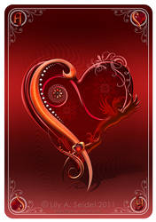 Ace of Hearts Card