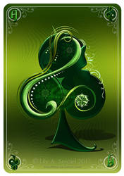 Ace of Clubs CARD by Lilyas