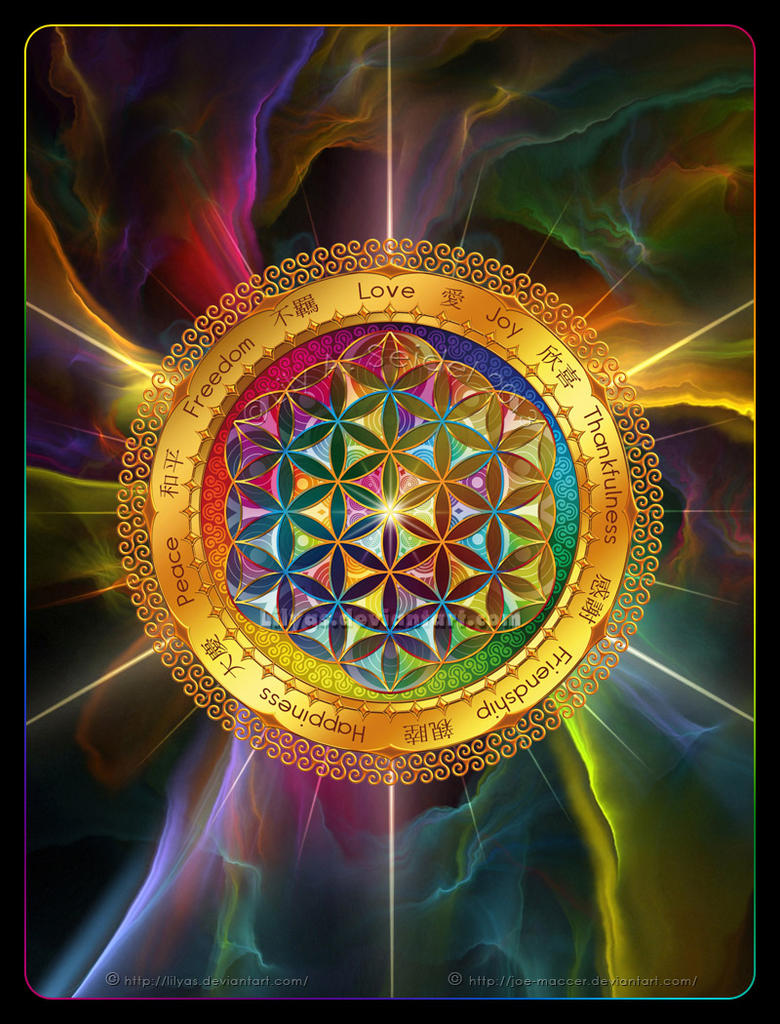 Flower of Life 2# by Lilyas on DeviantArt